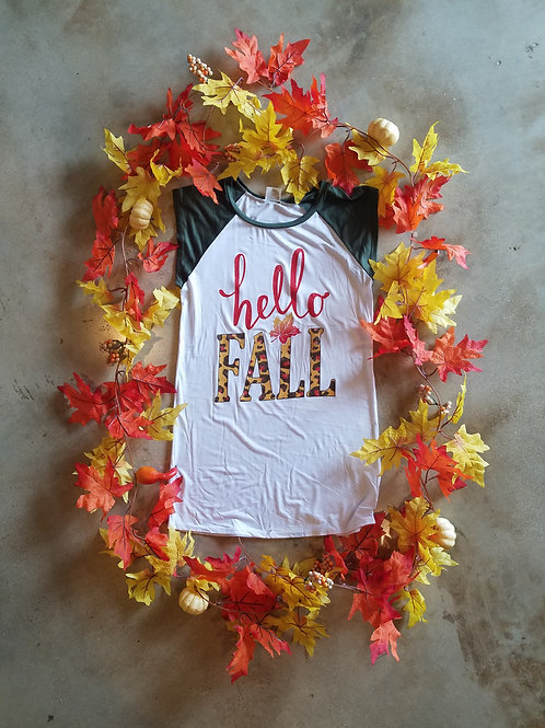 Hello Fall Top