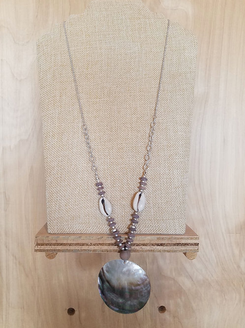 Shell & Cowrie Necklace