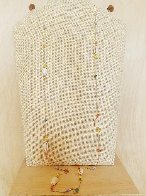 Long Cowrie Sell Necklace