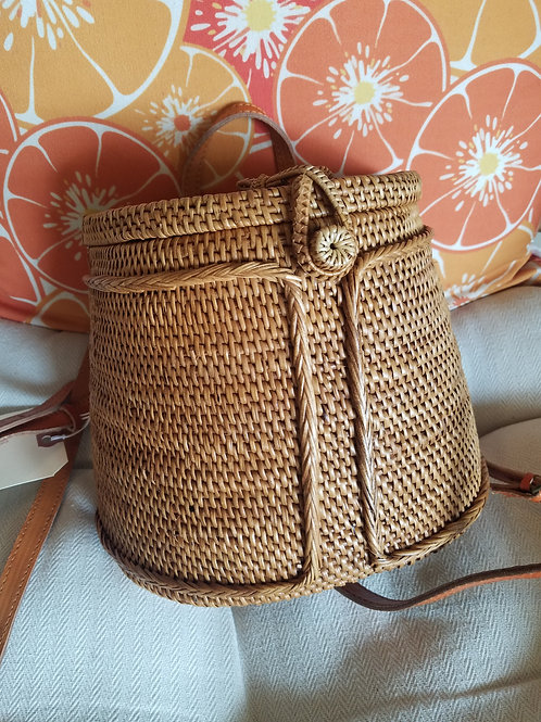 Woven Backpack