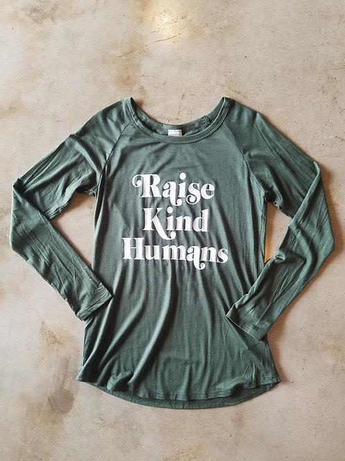 Raise Kind Humans Long Sleeve