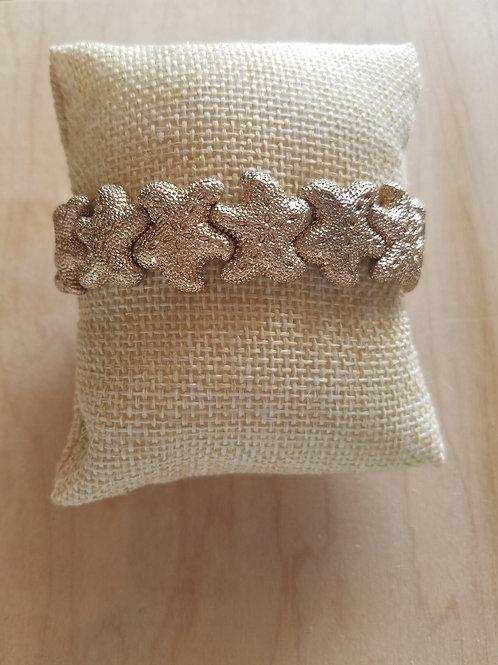 Gold Stretch Starfish Bracelet