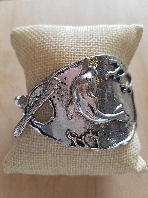 Silver Dolphin Bracelet
