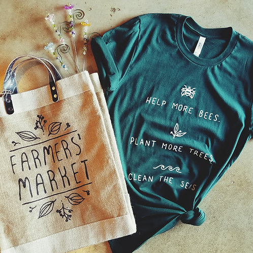 Help more bees eco top