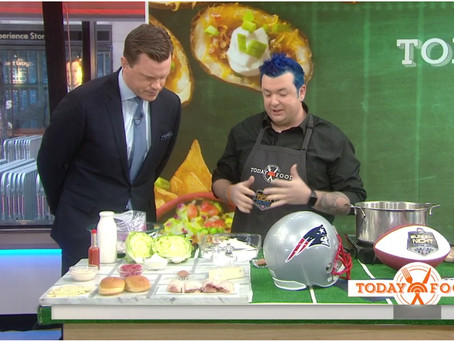 Today Show: Make game day delicious with chicken sliders, crab dip, cheesy biscuits and more