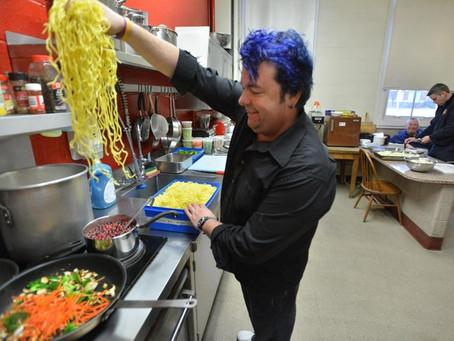 A blue streak of deals for chef Jason Santos