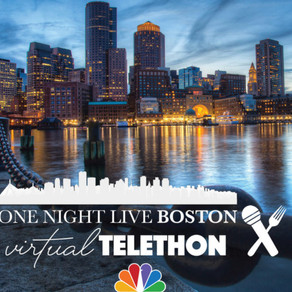 One Night Live Boston, A Virtual Telethon