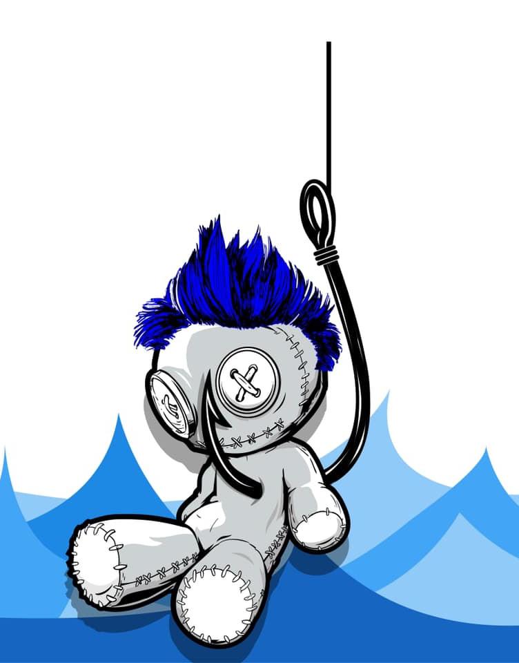 Fish Voodoo Doll