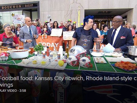 Tailgate like Kansas City and New England fans with these regional recipes