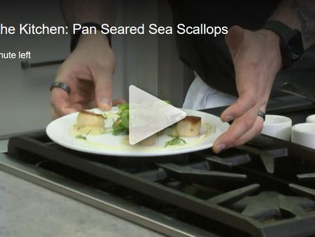 In the Kitchen: Pan Seared Sea Scallops