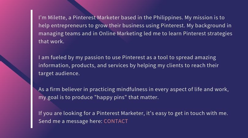 Pinterest Marketer Philippines