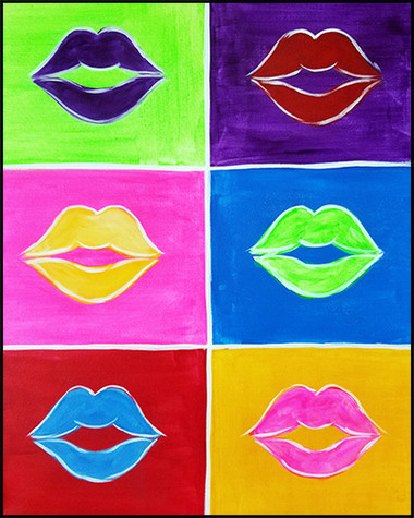 Warhol Kiss