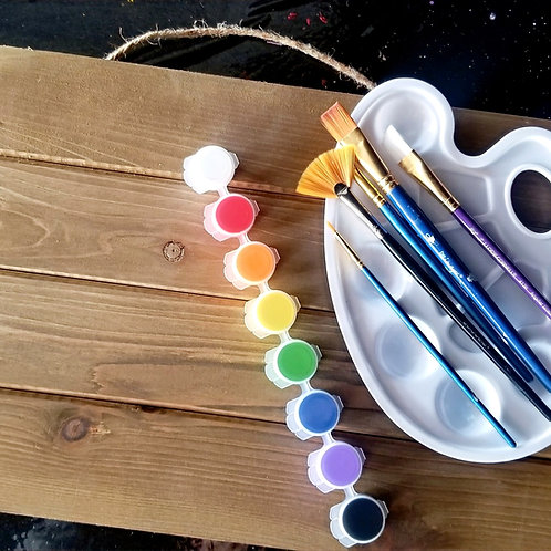 DIY Wood Art Kit