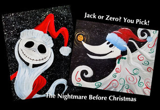 Santa Jack & Zero