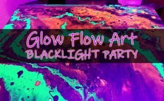 Glow Flow Art Blacklight Party