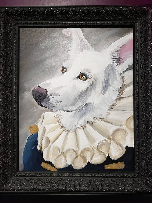 Custom Pet Portrait Painted by One of Our Amazing Artist