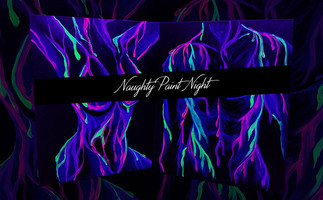 Naughty Nights: Blacklight Bodies