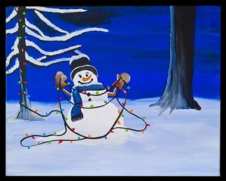 Snowman's Home