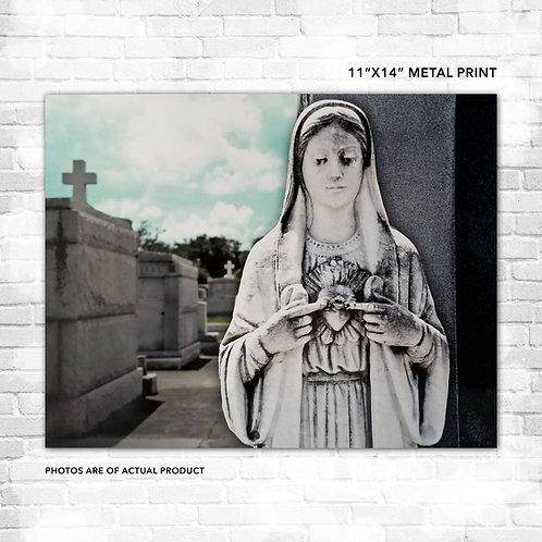 Corazón de María Metal Print