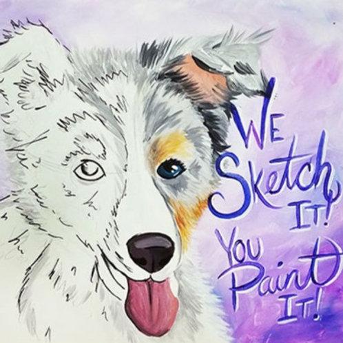 DIY Paint Your Pet Art Kit