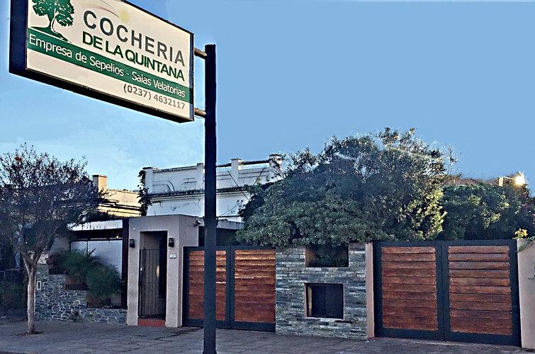 Frente Cochería De La Quintana