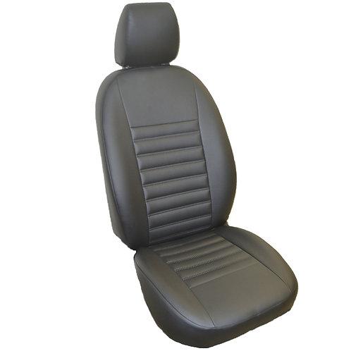 Каркасные авточехлы, прострочка 5х0.5. Nissan Terrano Comfort (2014-н.г.)
