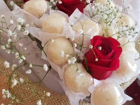 Bouquet de brigadeiro para o dia dos namorados
