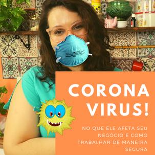 Coronavírus: como ele pode afetar seu negócio de confeitaria