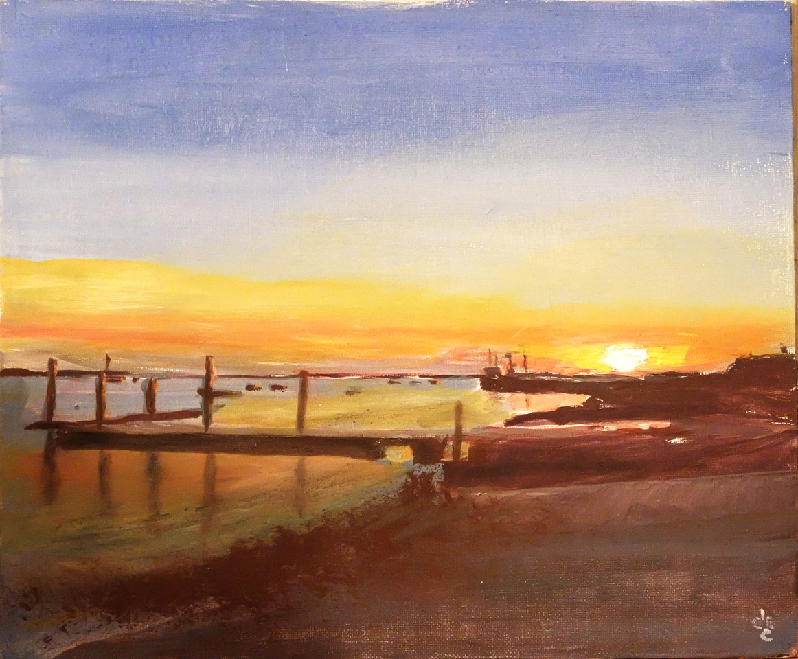 Orford sunset
