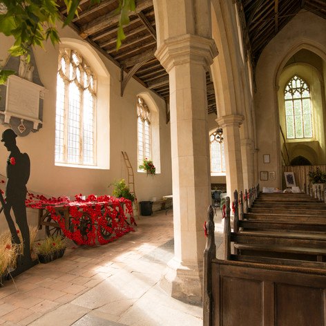 Remembrance Display by Kerry Oldfield