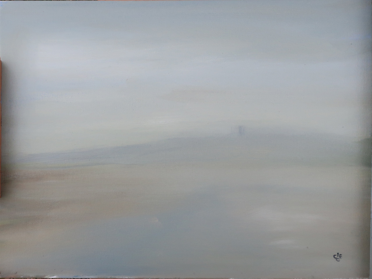 Morston creek in a fog