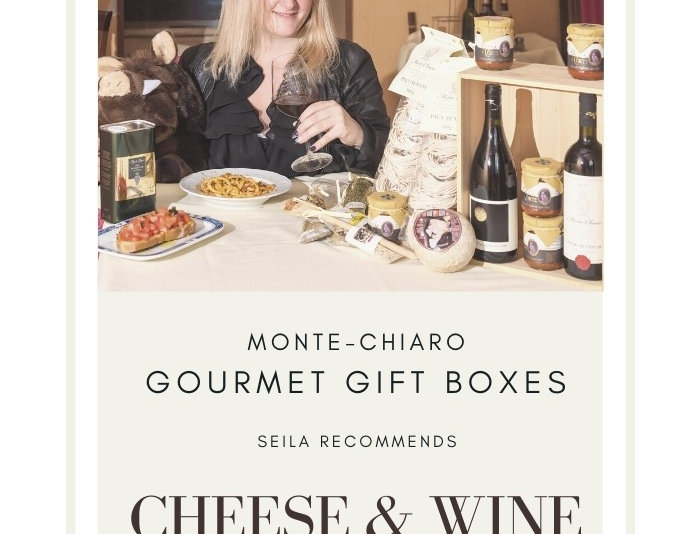 Gourmet Cheese & Wine Box