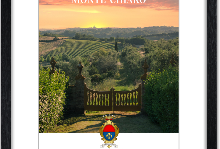 Monte Chiaro framed posters: The Gate