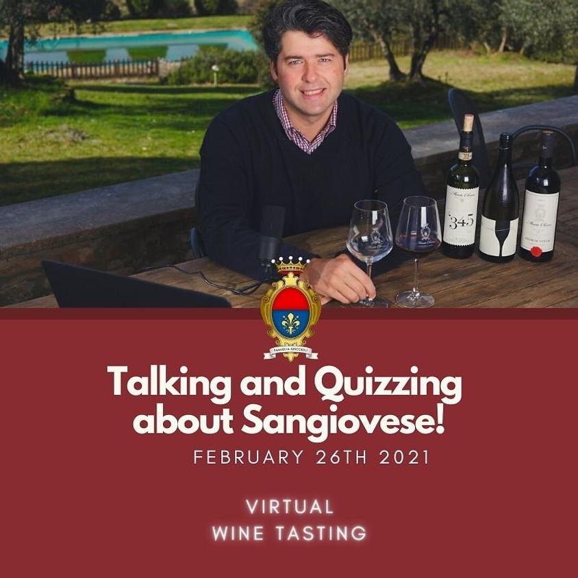 On-line Wine Tasting: SANGIOVESE WINE GAME