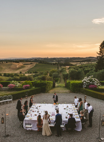 Weddings at MonteChiaro, a taste of heaven...
