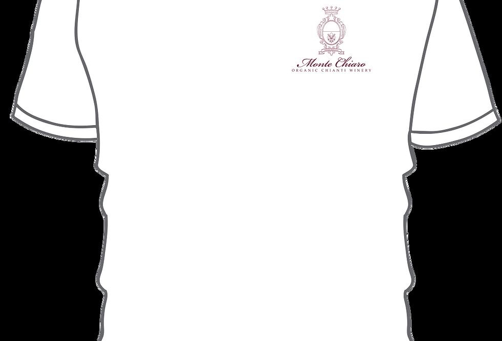 Unisex Short Sleeve Tee (White or Vinaccia)