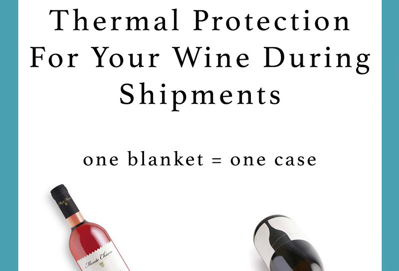 Thermal Blanket / Coperta termica - 12 BOTTLES