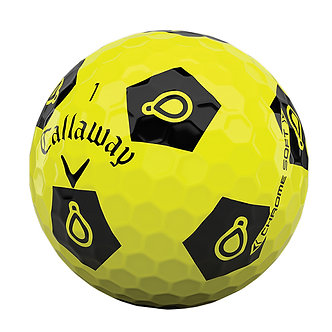 Callaway Chrome Soft Truvis - Play Yellow (Recycled)