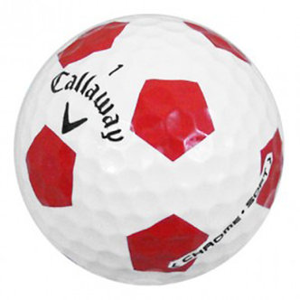 Callaway Chrome Soft Truvis  Red - Recycled