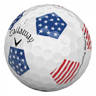 Callaway Chrome Soft Truvis Stars and Stripes - Recycled