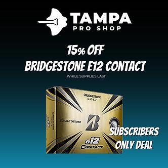 Bridgestone e12 Contact - Promotion