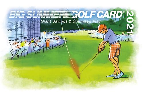 Big Summer Golf Card - 2021