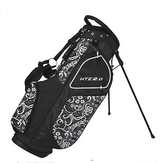 Hot-Z Ladies Lace 2.0 Stand Bag - Black/White