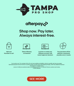 AFTERPAY - Pay for your purchase in four interest-free installments (due every two weeks).