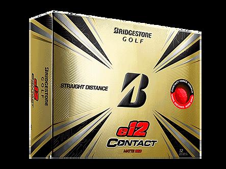 Bridgestone e12 Contact - Matte Red
