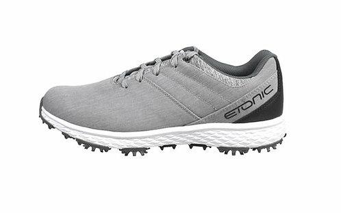 Etonic Men's Stabi-LIFE Shoes - Light Grey (Spiked)