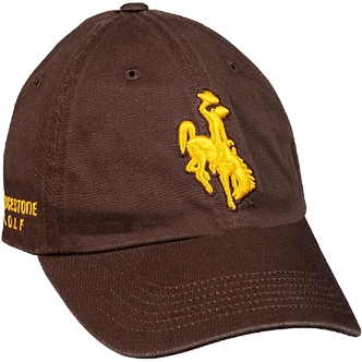 NCAA Bridgestone Golf Hat - Wyoming Cowboys