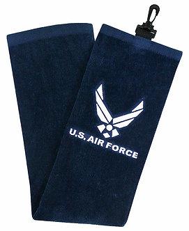 Hot-Z Golf Military Tri Fold Towel - US Air Force