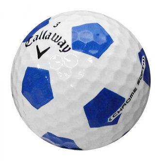 Callaway Chrome Soft Truvis Blue - Recycled