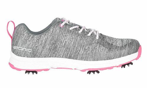 Etonic Ladies Stabilizer Sport 2.0 - Grey/Pink (Spiked)